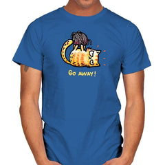 Go Away Right Meow - Mens - T-Shirts - RIPT Apparel