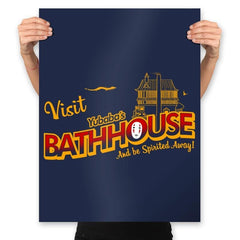 Visit the Bathhouse - Prints - Posters - RIPT Apparel