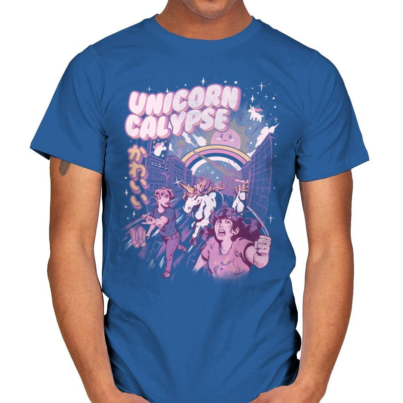 Unicorn Calypse - Mens - T-Shirts - RIPT Apparel