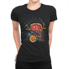 Let's Jam - Womens Premium - T-Shirts - RIPT Apparel