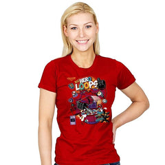 Hero Loops Cereal Exclusive - Womens - T-Shirts - RIPT Apparel
