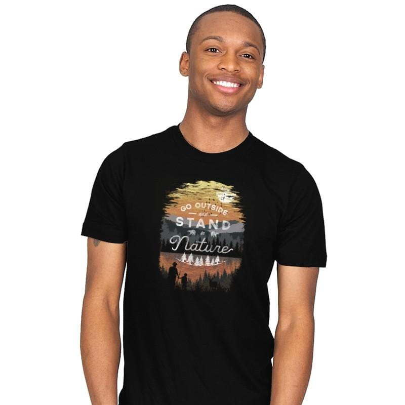 Go Outside - Back to Nature - Mens - T-Shirts - RIPT Apparel