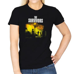 The Survivors Exclusive - Dead Pixels - Womens - T-Shirts - RIPT Apparel