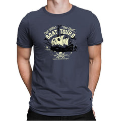 One-Eyed Boat Tours Exclusive - Mens Premium - T-Shirts - RIPT Apparel