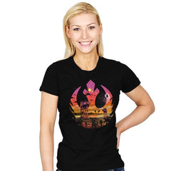 Rebellion Sunset - Womens - T-Shirts - RIPT Apparel