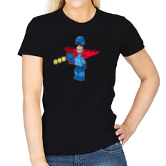 Block Man Exclusive - Womens - T-Shirts - RIPT Apparel