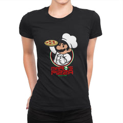 Plumber Pizza - Womens Premium - T-Shirts - RIPT Apparel