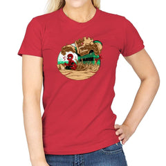 An Amazing Sand Castle - 80s Blaarg - Womens - T-Shirts - RIPT Apparel