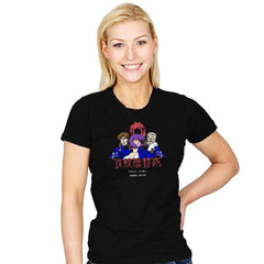Ghost in the Pixels Exclusive - Anime History Lesson - Womens - T-Shirts - RIPT Apparel
