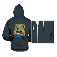 Black P. And Golden Jag - Hoodies - Hoodies - RIPT Apparel