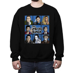 The Umbrella Bunch - Crew Neck Sweatshirt - Crew Neck Sweatshirt - RIPT Apparel