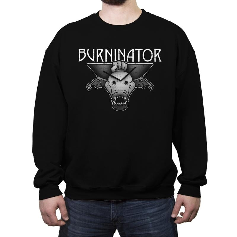 Burninator - Crew Neck Sweatshirt - Crew Neck Sweatshirt - RIPT Apparel