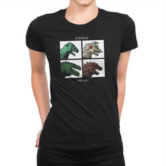 Godzillaz - Kaiju Days Exclusive - Womens Premium - T-Shirts - RIPT Apparel
