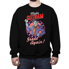Make Gotham Great Again - Anytime - Crew Neck Sweatshirt - Crew Neck Sweatshirt - RIPT Apparel