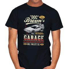 Doc Brown's Garage - Mens - T-Shirts - RIPT Apparel