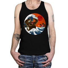Great Monster From Kanagawa - Tanktop - Tanktop - RIPT Apparel