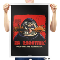 Mr Robotnik - Prints - Posters - RIPT Apparel