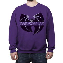 Gar-goyles - Crew Neck Sweatshirt - Crew Neck Sweatshirt - RIPT Apparel
