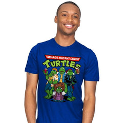Cliché Turtles - Mens - T-Shirts - RIPT Apparel