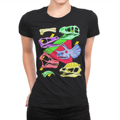 Radical Dinos - Womens Premium - T-Shirts - RIPT Apparel