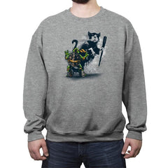 Teenage Mutant Street Art - Crew Neck Sweatshirt - Crew Neck Sweatshirt - RIPT Apparel