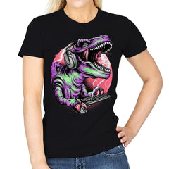 Dino Rage - Womens - T-Shirts - RIPT Apparel