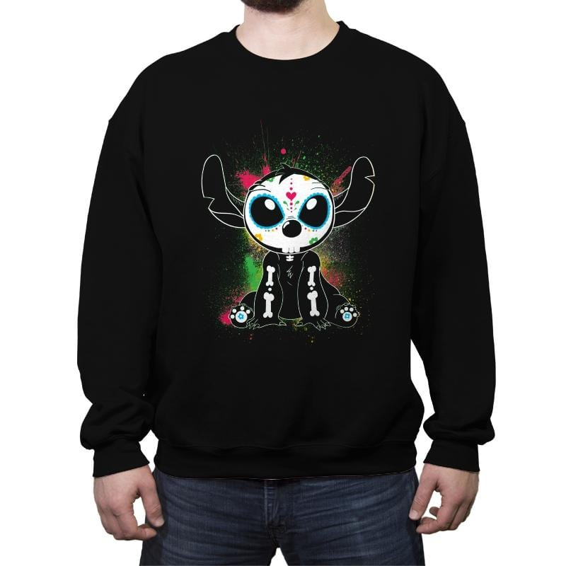 Calavera 626 - Crew Neck Sweatshirt - Crew Neck Sweatshirt - RIPT Apparel
