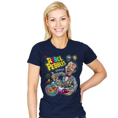 Rebel Pebbles - Womens - T-Shirts - RIPT Apparel