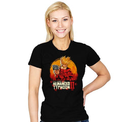 Red Humanoid Typhoon II - Womens - T-Shirts - RIPT Apparel