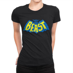 The Beast-Man - Womens Premium - T-Shirts - RIPT Apparel