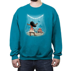 Ocean´s things - Crew Neck Sweatshirt - Crew Neck Sweatshirt - RIPT Apparel