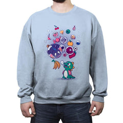 Many Bubbles - Crew Neck Sweatshirt - Crew Neck Sweatshirt - RIPT Apparel