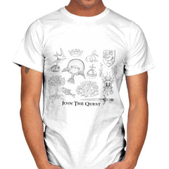 The Quest For The Grail - Mens - T-Shirts - RIPT Apparel