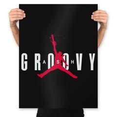 Ash Groovy - Prints - Posters - RIPT Apparel