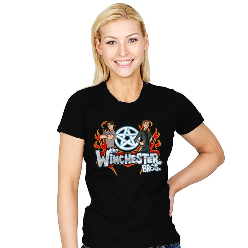 The Winchester Bros - Womens - T-Shirts - RIPT Apparel
