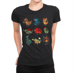 Dinosaur Role Play - Womens Premium - T-Shirts - RIPT Apparel