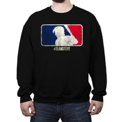 Team Steve - Crew Neck Sweatshirt - Crew Neck Sweatshirt - RIPT Apparel