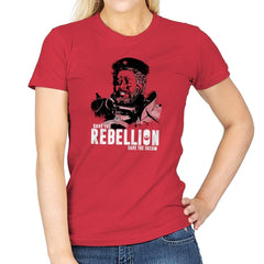 Save The Rebellion Exclusive - Womens - T-Shirts - RIPT Apparel
