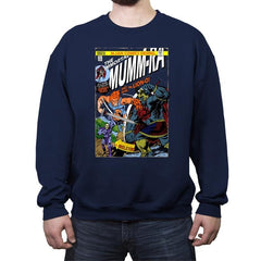 Return of Immortal Mumm-ra - Crew Neck Sweatshirt - Crew Neck Sweatshirt - RIPT Apparel