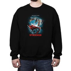 Strange  - Crew Neck Sweatshirt - Crew Neck Sweatshirt - RIPT Apparel