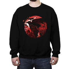 Black Birds - Crew Neck Sweatshirt - Crew Neck Sweatshirt - RIPT Apparel
