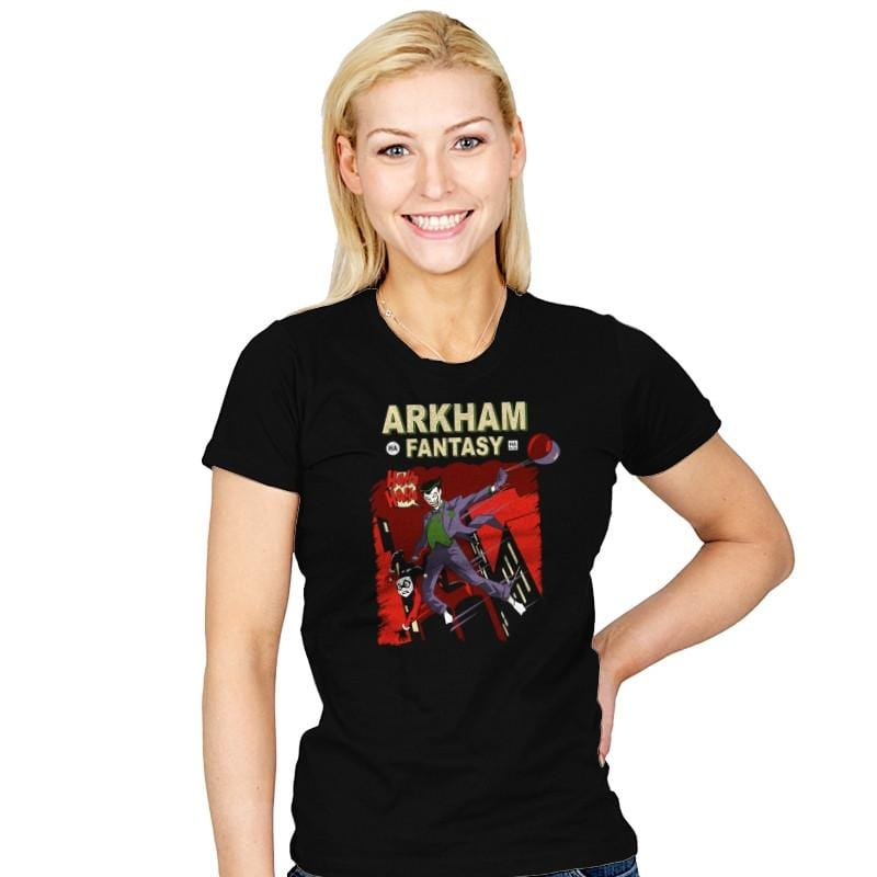 Arkham Fantasy - Womens - T-Shirts - RIPT Apparel