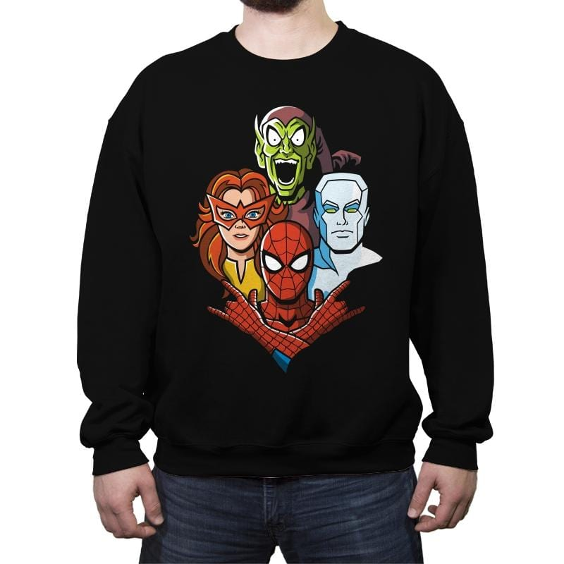 Amazing Rhapsody - Crew Neck Sweatshirt - Crew Neck Sweatshirt - RIPT Apparel