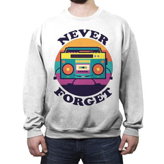 Don't Forget Me - Crew Neck Sweatshirt - Crew Neck Sweatshirt - RIPT Apparel