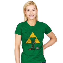 Link Graffiti - Womens - T-Shirts - RIPT Apparel