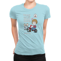 Shiny Danny - Womens Premium - T-Shirts - RIPT Apparel