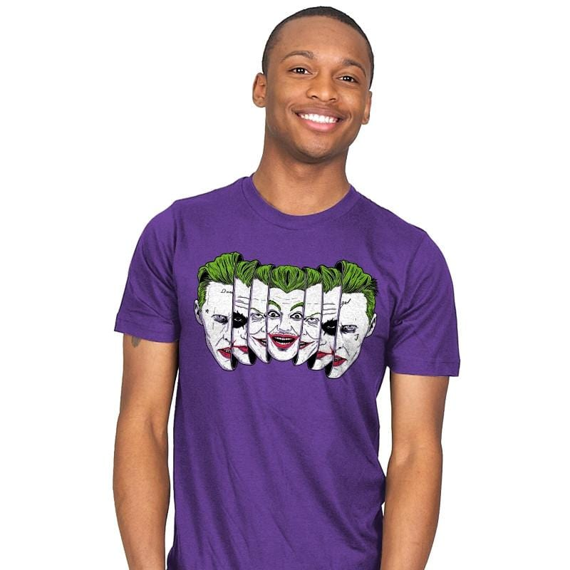 The Joke Has Many Faces - Joker T-Shirts