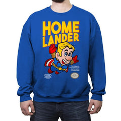 Superlander - Crew Neck Sweatshirt - Crew Neck Sweatshirt - RIPT Apparel
