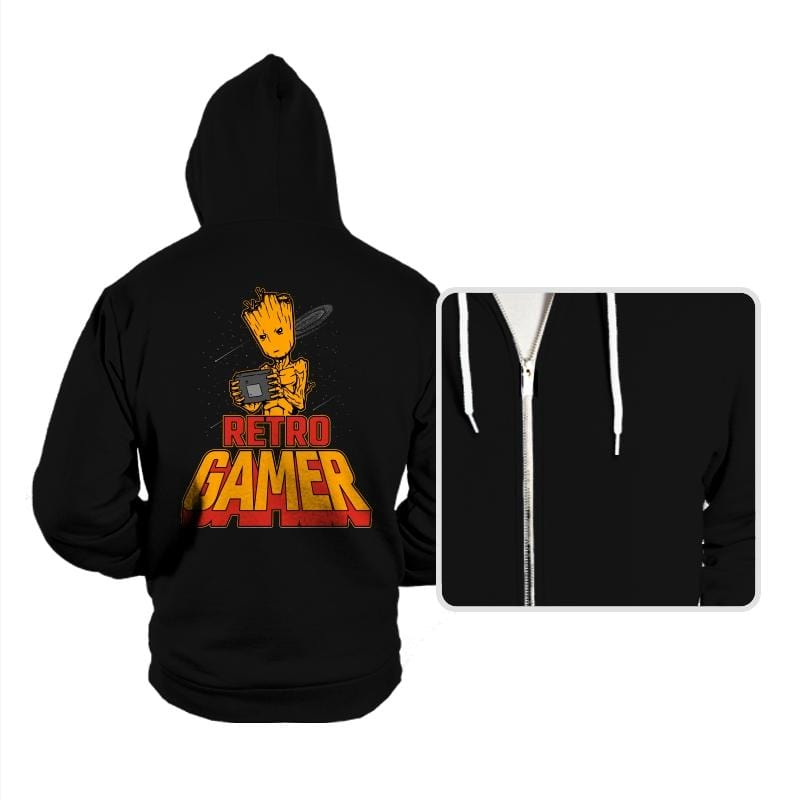 I am Retro Gamer - Hoodies - Hoodies - RIPT Apparel