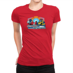 Autobros Before Decepti-foes Exclusive - Womens Premium - T-Shirts - RIPT Apparel